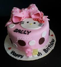 Hello Kitty Cake For Sally Jocakes
