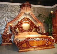 italian style bedroom furniture. Italian Style Royal Bedroom Furniture, Formal Classical Upholstery Bed With Night Stands Furniture