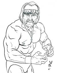 Stars don't understand wwe brotherhood. How I Successfuly Organized My Very Own Hulk Hogan Coloring Pages Coloring Coloring Pages Online Coloring Pages Line Artwork