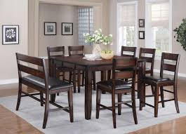 dining room chairs rectangle set rustic bar table best room home design