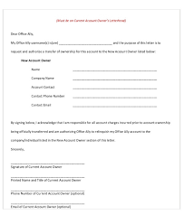Letter Of Ownership Template Confidence220618 Com