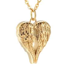 whole retro angel wing ash keepsake urn pendant necklace hold ashes memorial jewelry ash locket cremation urns necklace for pet human ashes diamond