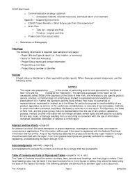 report format template sample from assignmentsupport com essay writin  dchopkins page 1 spring 2004 2 ee 402 report