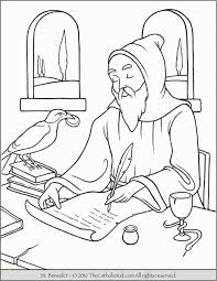 St Francis Of Assisi Printable Coloring Page 10 St Francis Assisi