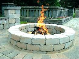 propane fire pit kit kits ideas square from diy