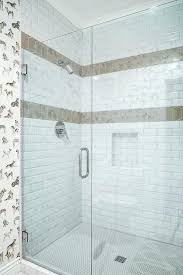 shower accent tile tile accent wall in bathroom astounding blue and cream pomegranate