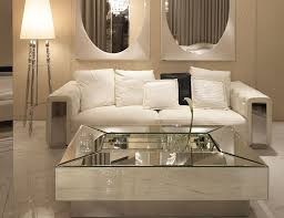 mirrored coffee table. modern mirrored coffee table decor for living room
