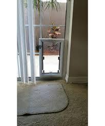 in glass pet door enlarge