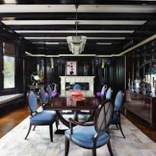 black lacquered dining room black lacquer dining room