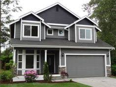 Awesome Paint Idea... Dark Grey On Top W/ White Trim By Sybil Exterior