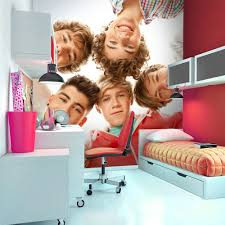 One Direction Wallpaper For Bedroom 1wall One Direction Circle Giant Wallpaper Mural Peters Of