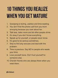 Mature Quotes
