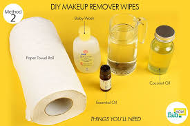 advers diy makeup remover things need