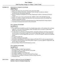 Design Engineer Resume Sample Pdf 456993 Sample Resume Of