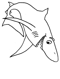 Small Picture Printable Shark Coloring Pages Coloring Me