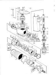 volvo penta exploded view schematic upper gear unit aq drive unit exploded view schematic