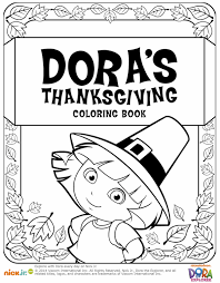Small Picture Thanksgiving Coloring Pages