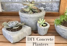 make your own succulent planter with this easy diy concrete planter tutorial wildlfowersandwander com