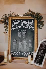 Blackboard Seating Chart Vintage Chalkboard Wedding Seating Chart Ideas
