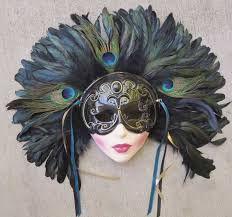 Decorative Venetian Wall Masks 100 best Wall Masks images on Pinterest Clay art Carnival masks 55