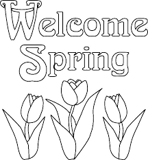 Welcome Spring Coloring Pages Spring Color Pages Related Post Spring