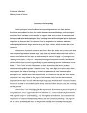 things fall apart essay   hsp iii professor schachter things fall   pages emotions in anthropology essay