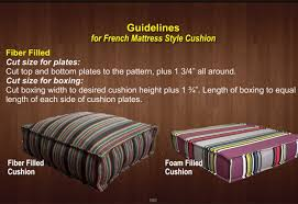 how to make furniture covers. How-to-Make-a-French-Mattress-Style-Cushion- How To Make Furniture Covers
