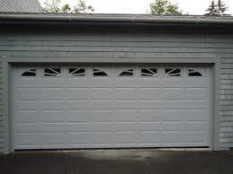 new 16x7 garage door installed in castine maine by winsmor garage door co