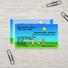 Kids Business Cards Zazzle