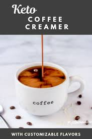 However, there is quite a bit more than just that. F You Are Missing Coffee Creamer On Your Keto Diet I Have Good News For You This Sugar Free Coff Keto Coffee Creamer Coffee Creamer Bulletproof Coffee Recipe