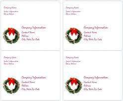 Holiday Address Label Templates Holiday Shipping Labels Holiday Shipping Label Template