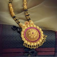 Bhima Gold Jewellery Designs Mangalsutra Gold Mangalsutra Designs From Waman Hari Pethe Jewellers