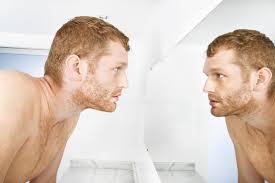 looking in mirror. Interesting Mirror Manlookinginmirror For Looking In Mirror M