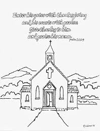 Psalms Coloring Page For Kids Bing