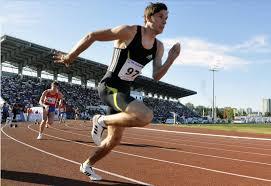 Легкая атлетика виды бега правила соревнований Бегун на забеге