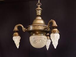Origjugendstil Deckenlampe Kronleuchter 1920 In 2603