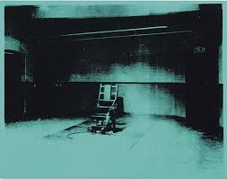modern electric chair. little electric chair (1964) by andy warhol modern