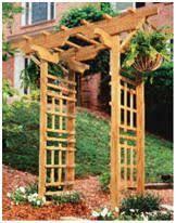 Small Picture New japanese style cedar wood garden arbor pergola arch Garden