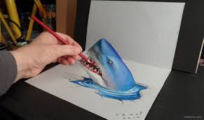 fish 3d drawing fish 3d drawing 3d drawings 3d drawings