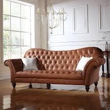 classic victorian italian leather sofa