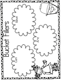 Small Picture Bucket Filler Coloring Page Bucket Filling Coloring Sheet For Back