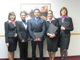 interview preparation in flight attendant schooling students receive interview preparation while attending flight attendant