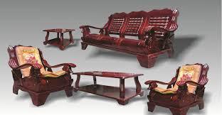 wood furniture designs sala set photo 4