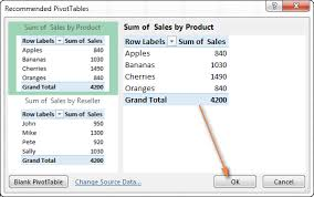 Tutorial How To Use A Pivottable To Create Custom Reports