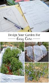 using these 5 tips to design a vegetable garden for easy care means i absolutely do not spend hours weeding my vegetable beds and you don t have to