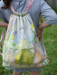 Drawstring Backpack Pattern Mesmerizing Free Drawstring Backpack Sewing Pattern