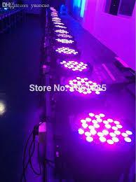 whole flight case 8pcs lot led par light 54 3w rgbw led par64 light dj led par 64 dmx512 stage par can light dmx stage light