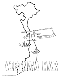 History Coloring Pages Volume 4 Vietnam War And Food Chains