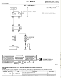 i have a 2001 nissan sentra gxe 1 8l car wont start thought 2001 nissan sentra stereo wiring diagram here is the wiring diagram for the fuel pump graphic 2001 Nissan Sentra Stereo Wiring Diagram