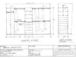 standard closet dimensions. Shelf Standard Closet Dimensions U